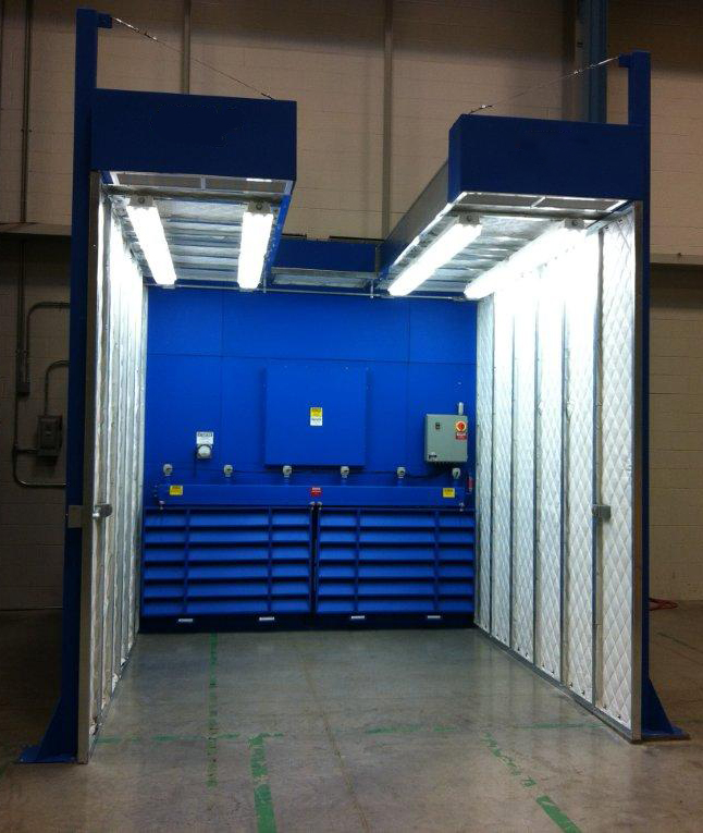 Dust Control Booths Containment Booths