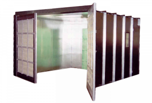 Portable Paint / Fume Booth | Industrial Spray Booths