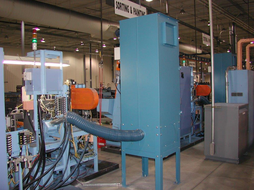 Paint Fumes Maxflo Industrial Air Filtration Equipment