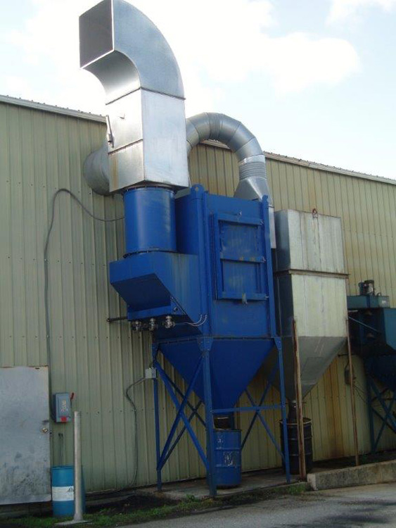 Smoke Collection Maxflo Industrial Air Filtration Equipment